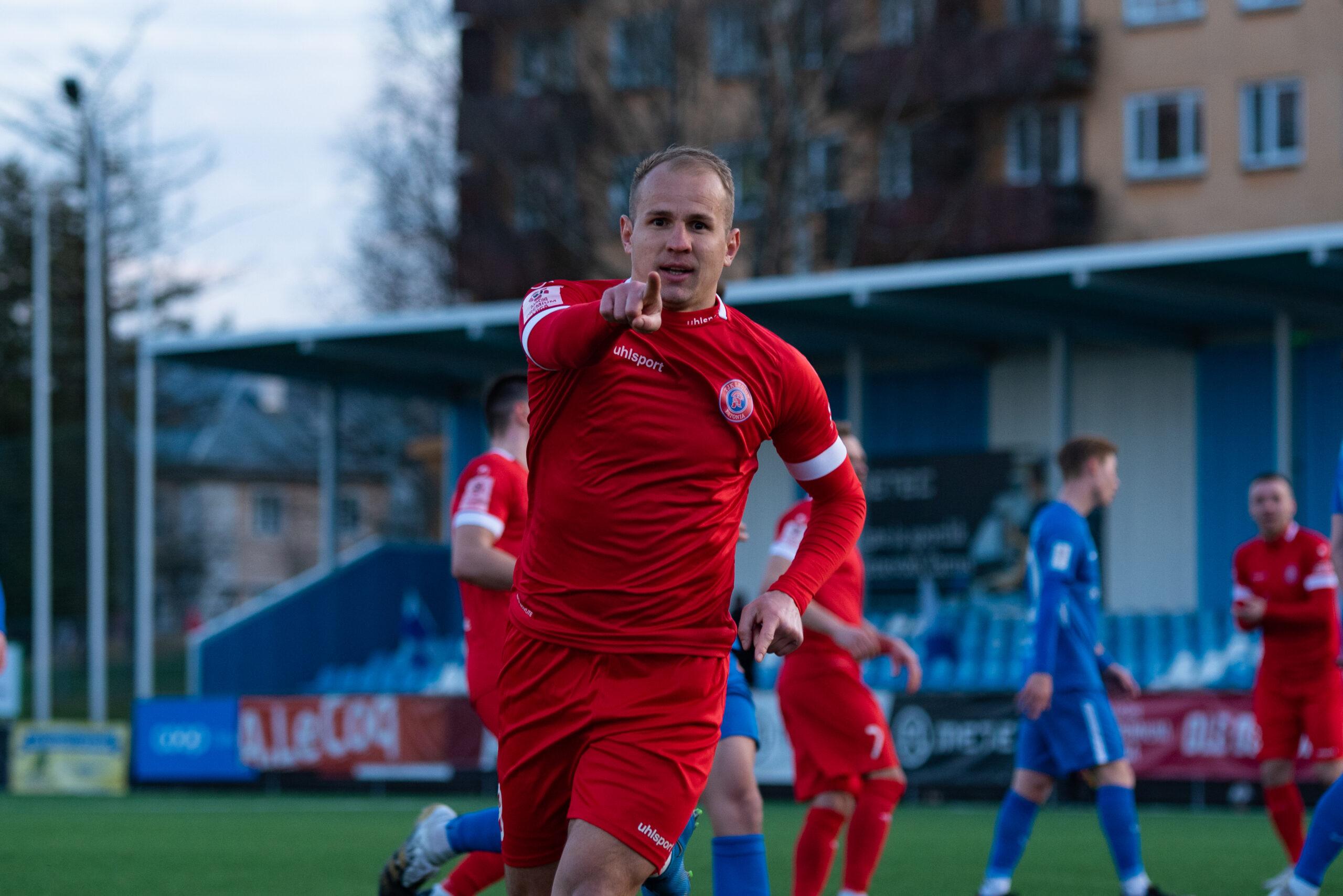 Тарту Таммека 0 – 1 ТФК Легион