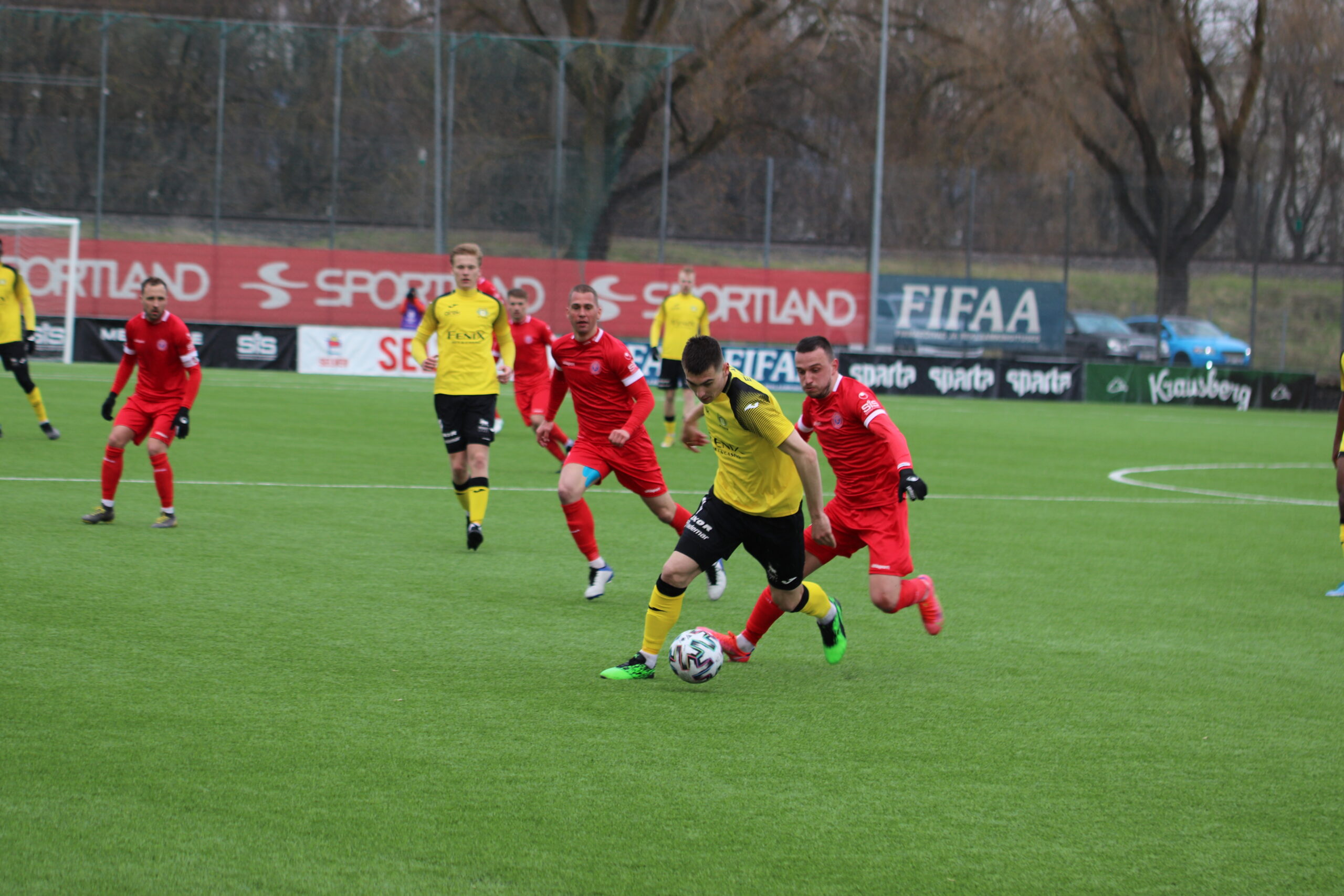 Вильянди ФК Тулевик 1 – 0 ТФК Легион