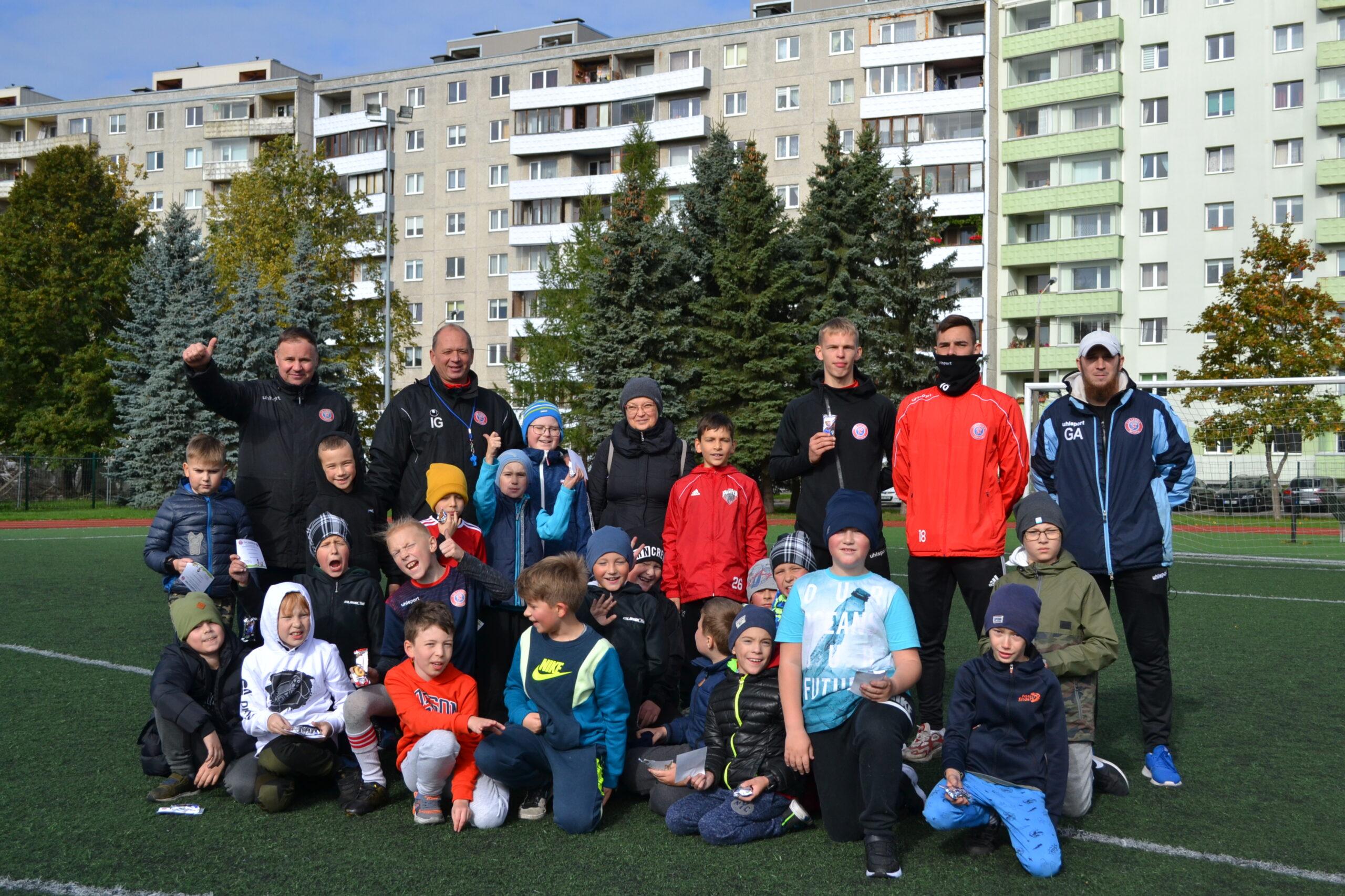 Спортивный день в школе Haabersti Vene Gümnaasium