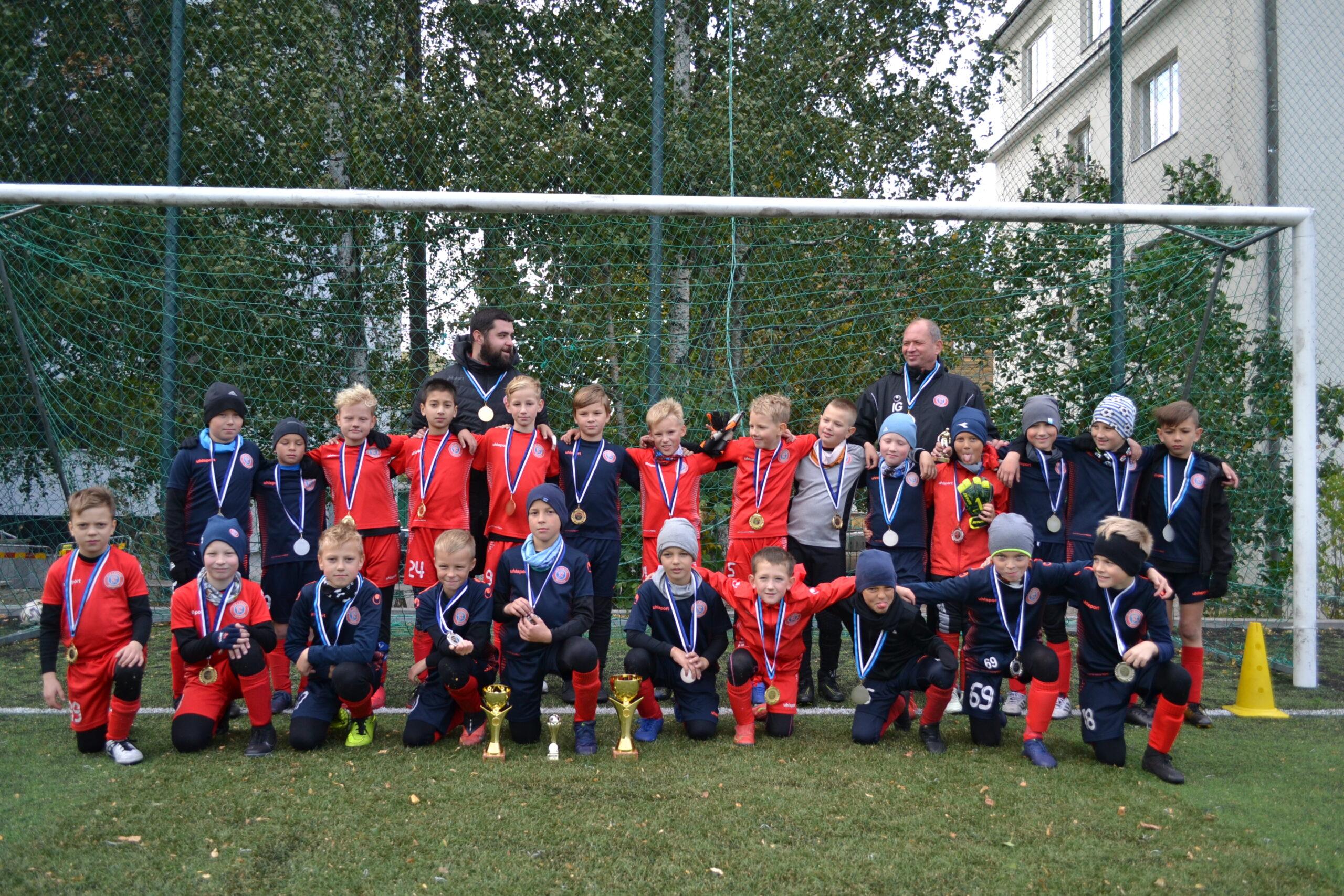 Зарегистрируйте ребёнка в Tallinna Spordi- ja Noorsooamet